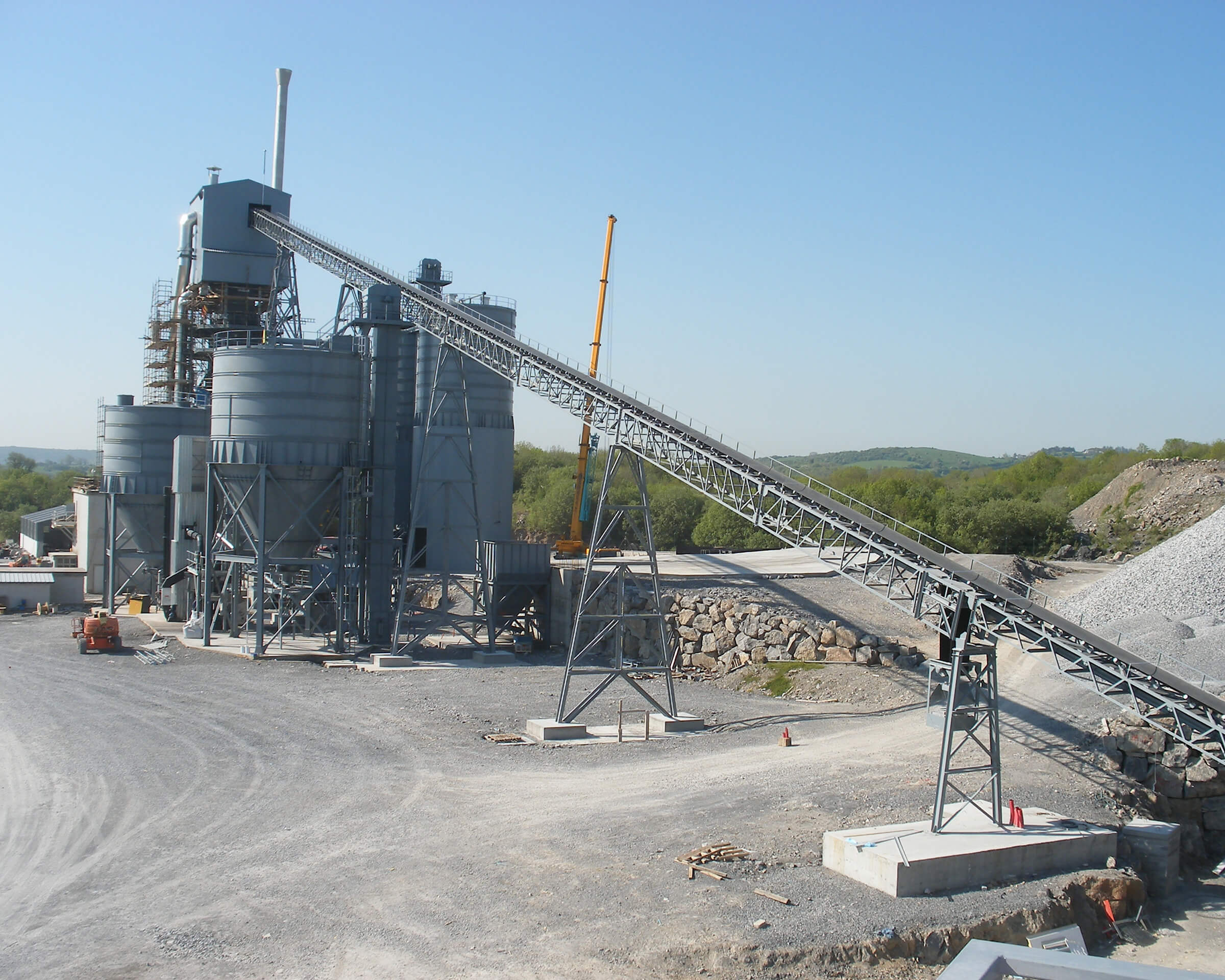 C&QEMS quarry conveyor